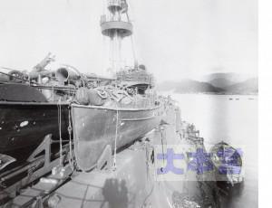 露戦艦アリョール(石見)の被害状況、タンブル・ホームに注意