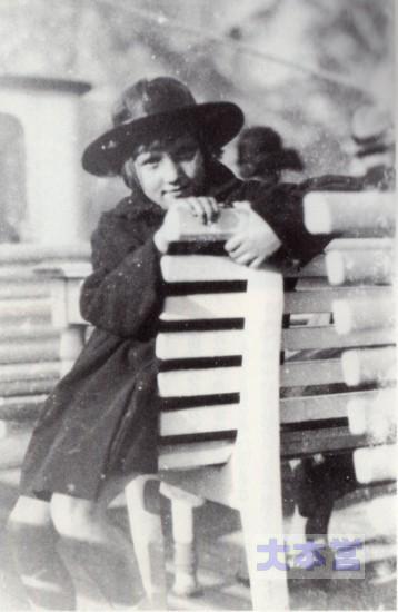 ポツダム郊外の少女