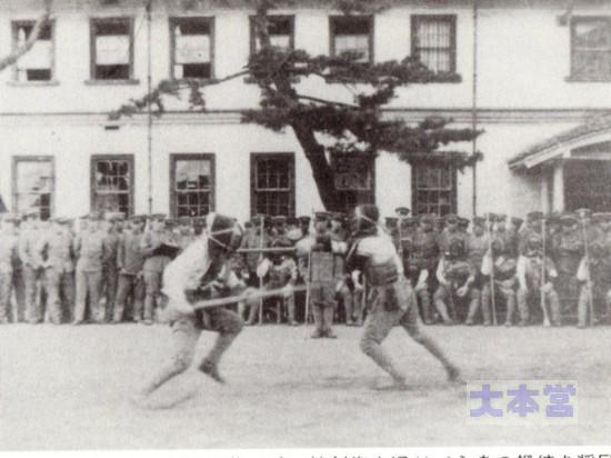 仙台第4連隊長時代は銃剣術を奨励した