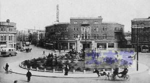昭和2年頃の奉天市街