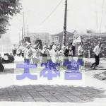 昭和18年5月、東京駅付近での防空演習3