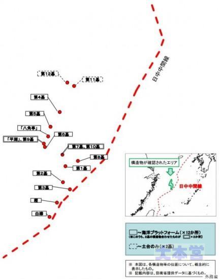 0150721発表のガス田地図