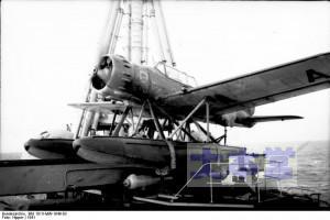 アドミラル・ヒッパー搭載のAr196