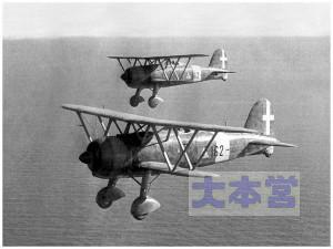 フィアットCR42、編隊飛行