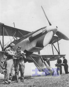出撃準備中のフィーゼラーFi167