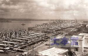 1930年台末のタラント軍港