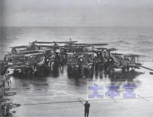 1941年5月24日、ヴィクトリアス艦上のソードフィッシュ