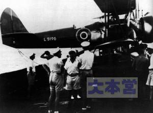 95式水偵、ドイツ仮想巡洋艦に搭載される