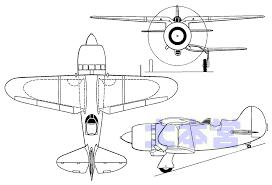 Nikitin IS-1三面図