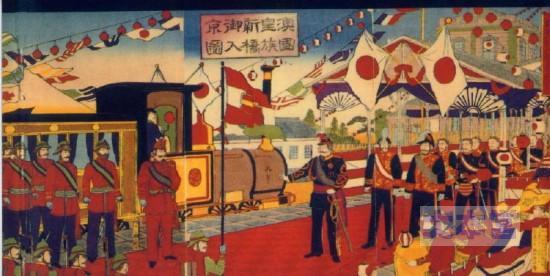 1893皇太子フランツ・フェルディナント大公の入京