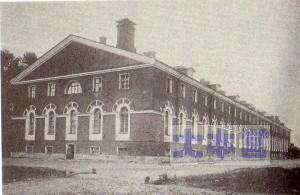 兵・下士官の収容施設