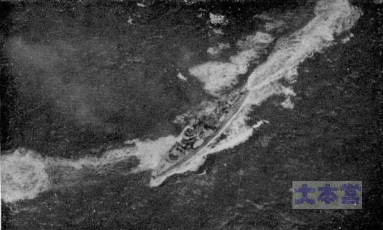 硫黄島補給作戦で空襲を受ける四海防
