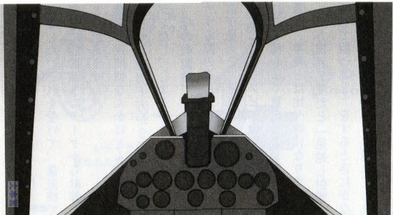 P40コクピットイラスト