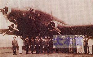 サヴォイア・マルケッティSM75日伊連絡機