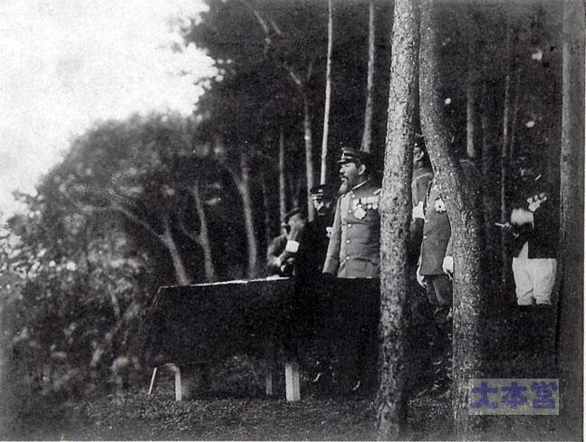 明治天皇、1909年、栃木県で演習統監される