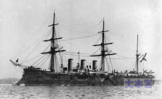 ニコライ2世の座乗艦バーミチャ・アゾーバ
