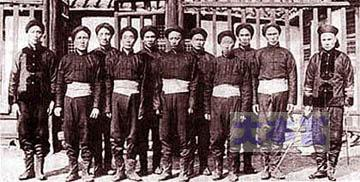 北洋艦隊の水兵たち