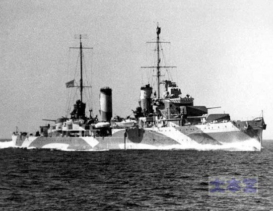 軽巡パース1942