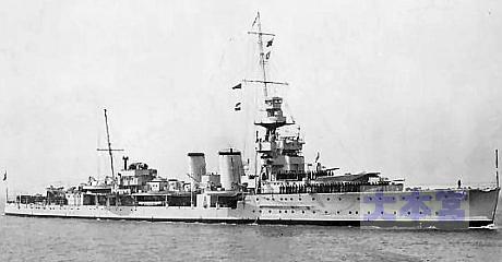 防空巡洋艦コヴェントリー