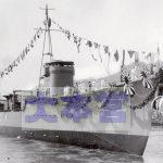 1939佐世保で進水する磯風