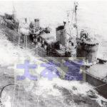 1942金剛から燃料を補給する不知火