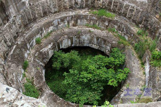 壱岐要塞の廃墟(ごく一部)