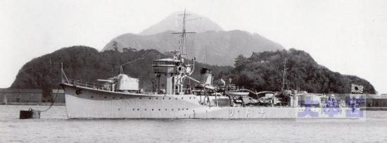 水雷艇「真鶴」(「友鶴」と同型)の竣工時