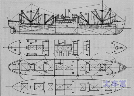 1A型船型図