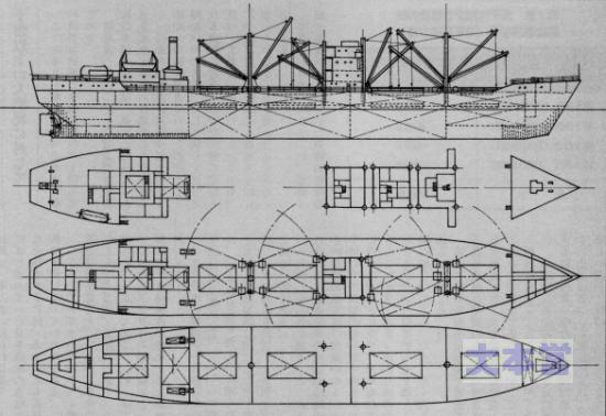 2A型船型図