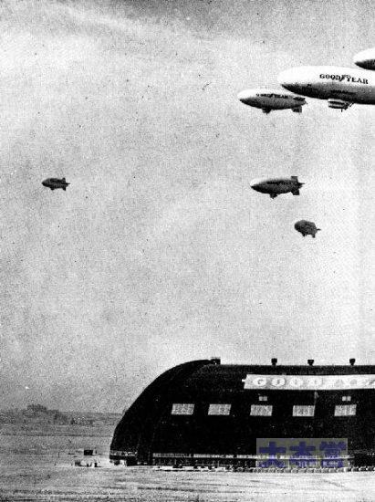 グッドイヤー社の飛行船