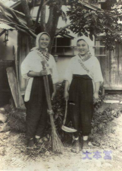 国防婦人会(モンペ)