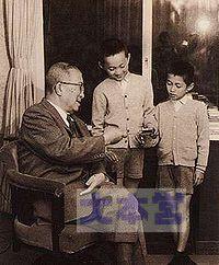 鳩山一郎と由紀夫・邦夫兄弟