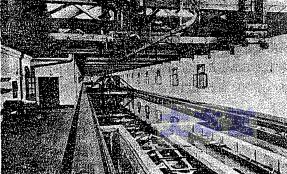 三菱長崎造船所の試験水槽