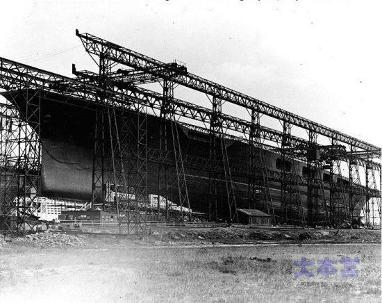 改造中のレキシントン1925