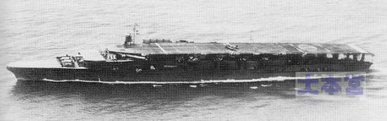 1934の赤城、3段甲板+小島艦橋