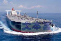 現代の大型タンカー