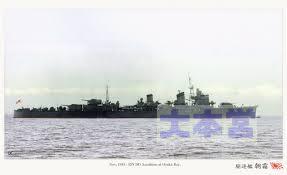 駆逐艦「朝霜」