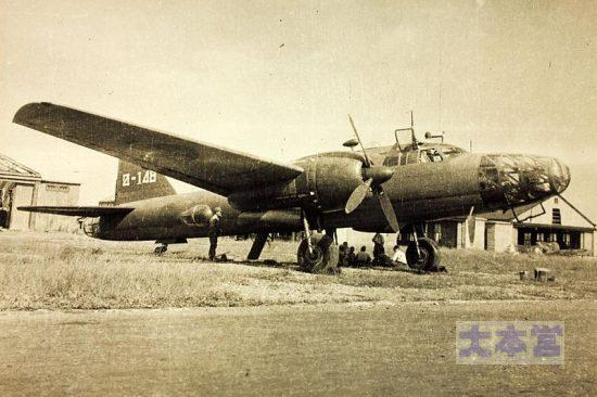 飛行74戦隊の「飛竜」垂直尾翼のマークに注意