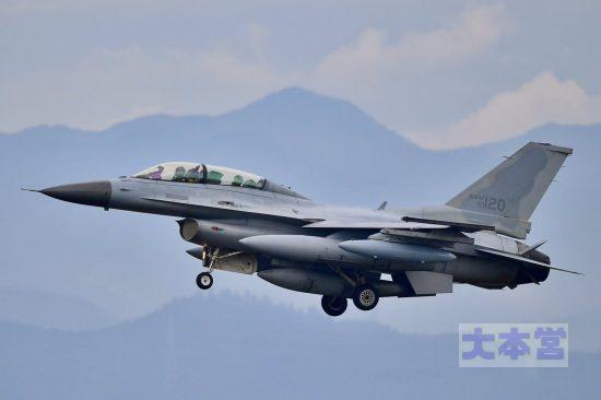 '17.06.02横田へ飛来したKF16