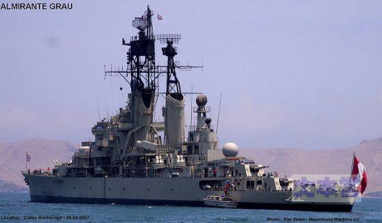 ペルー巡洋艦アルミランテ・グラウ
