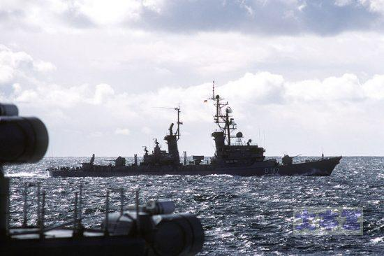 ミサイル駆逐艦「ロンメル」(退役済み)