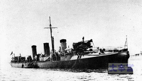 最初の駆逐艦ハヴォック