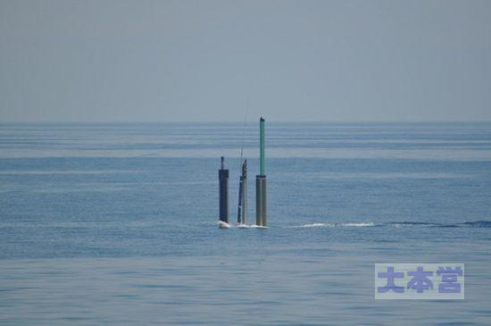 海上のアンテナ