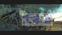 38式野砲の砲撃(映画セデック・バレより)
