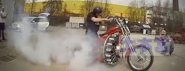 星形エンジンバイク