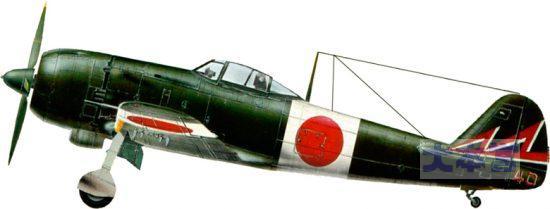 飛行47戦隊富士隊の「疾風」