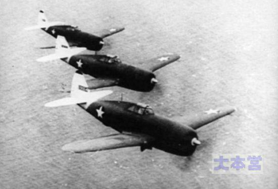 P-47Dの編隊_1943
