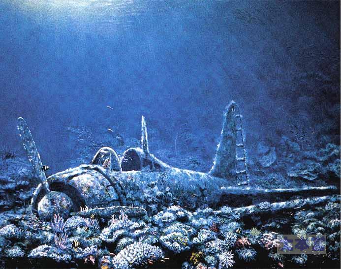 海底に眠る零