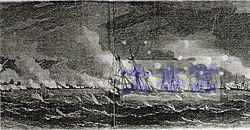 イギリス艦隊、戦闘が旗艦ユーリアラス