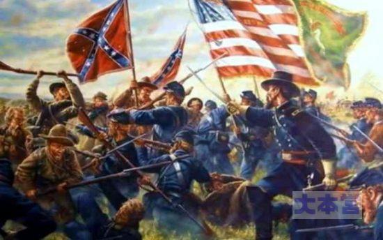 南北戦争ゲティスバーグの戦い